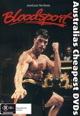 Bloodsport DVD NEW, FREE POSTAGE WITHIN AUSTRALIA REGION ALL