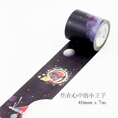 cartoon little prince Washi paper Masking Tape Scrapbooking Decal stickers label