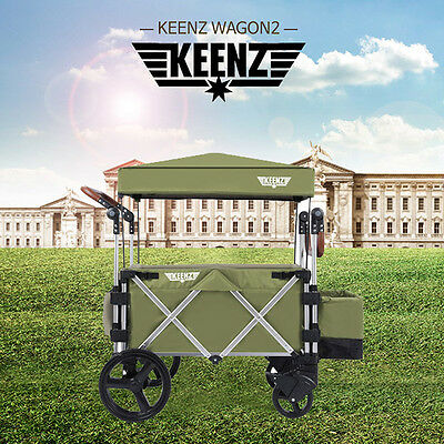 Korean Brannew Keenz wagon2 deluxe Green Color for kids 2017