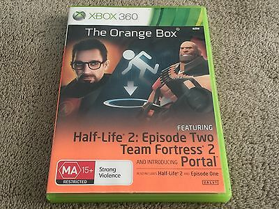 The Orange Box (Xbox 360) Complete - Fast Free Post - 5 GAMES IN 1