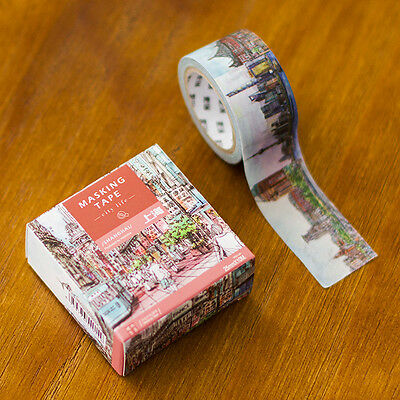 city series Shanghai Chenghuang temple Washi Masking Tape stickers Scrapbooking