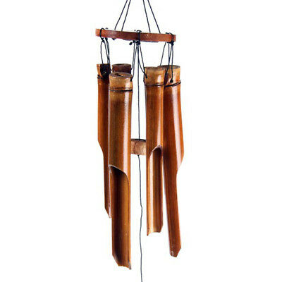 Small Dark Brown Bamboo Wind Chime Ch11. Purchase 3 get 4th free