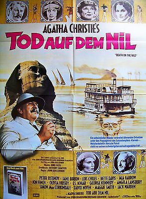 Agatha Christie + Death On The Nile + Peter Ustinov + David Niven + Ger 1-Sh +
