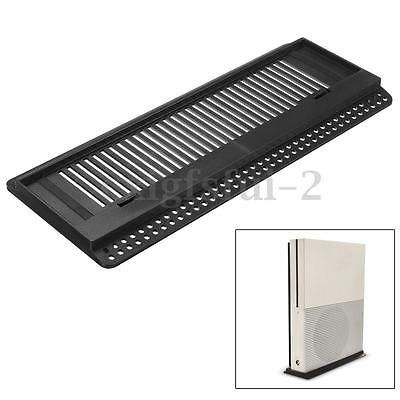 Vented Vertical Stand Cooling Holder Dock Station for Xbox One S Slim Console UK