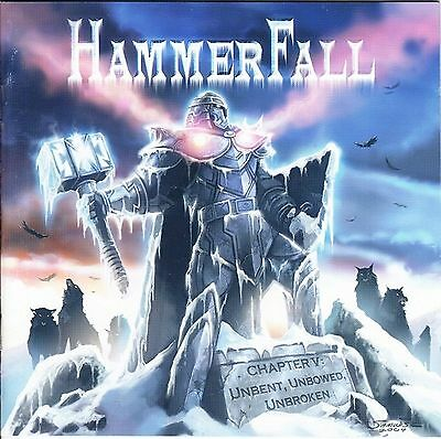 LP-HammerFall-CHAPTER V : UNBENT ,UNBOWED,UNBROKEN-PICTURE DISK