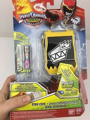Power Rangers Dino Charge Dino Com Charger Belt Morpher Bandai - New + Sealed!