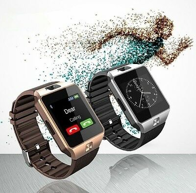 SmartWatch Smart watch With Camera Bluetooth Pedometer IOS Android