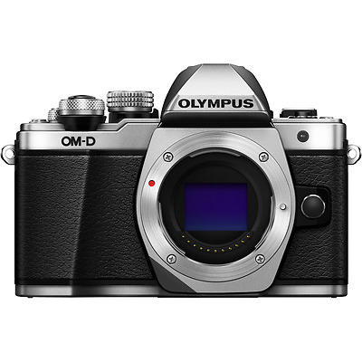 Olympus OM-D E-M10 Mark II Digital Camera Body - Silver