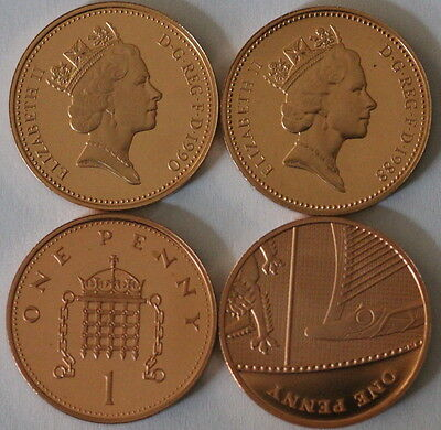 Decimal Proof 1972 - 2017 Royal Mint Uk 1p One penny coin