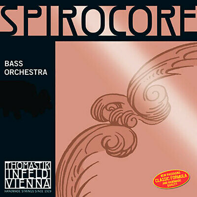 Spirocore Double Bass C Extension. 4/4 THOM-Bowed Strings