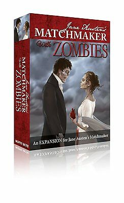 Jane Austen's Matchmaker with Zombies - a ruthlessly romantic card game