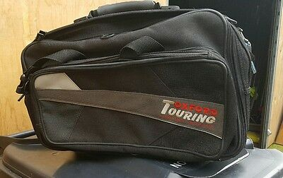 Pair Of Used Oxford Motorcycle Sports Panniers