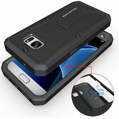 Samsung Galaxy S7 Edge CASE COVER, Genuine Heavy Duty Armor Stand Built Screen