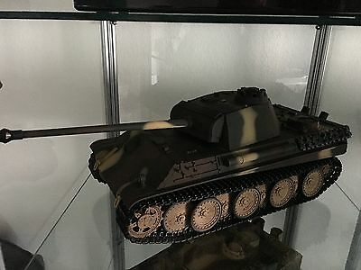 Torro 1:16 Panzer Panther IR Battlesystem Air brush Version mit Mettalketten neu