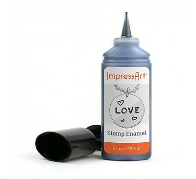 ImpressArt Stamp Enamel For Blackening Impressions On Hand Stamped Jewelry