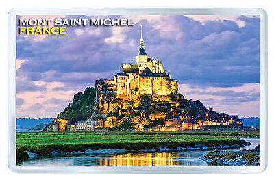Mont Saint Michel France Fridge Magnet Souvenir Iman Nevera
