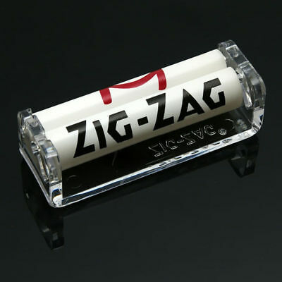 Easy Hand Roll Cigarette Tobacco Rolling Machine Roller Maker Plastic Zig-Zag