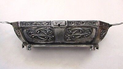 Rare Antique Germany Silver Plated Box - KAYSER/ART NOUVEAU 1900's