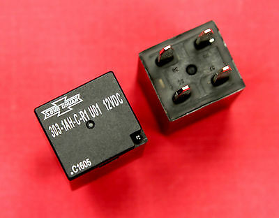 2 pcs Song Chuan 303-1AH-C-R1 U01 12VDC General Purpose Relay SPNO 20A