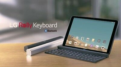 LG Rolly Keyboard Portable Bluetooth For iPad Pro Air Mini iOS Android Windows