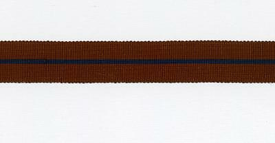 """6"""" of ORIGINAL MINIATURE Medal Ribbon for the Police 1902 Coronation Medal"""