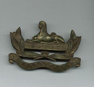 A Victorian Back Pack Badge for the Gloucesters  - ideal Re-enachtments