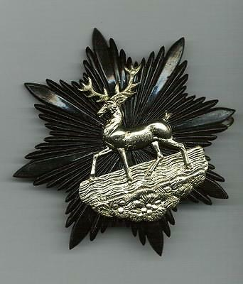 A Victorian Cap Badge for the 1st Hertfordshire Rifle Volunteers- Re-enachtments