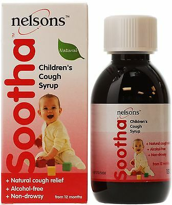 Nelsons Sootha Cough Syrup, 150ml