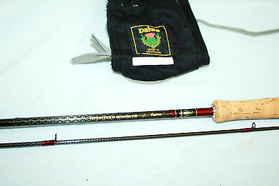 """9'-8 Daiwa """"Amorphous Whisker"""" Trout Special""""  Osprey fly fishing rod  line  6/8"""