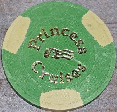 $25 Vintage Gaming Chip From Princess Cruise Lines Casino