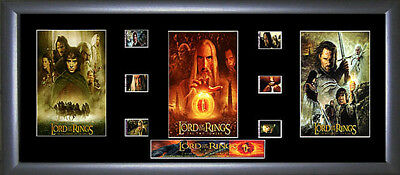 Lord of the Rings memorabilia : Trilogy Film Cell - Numbered Limited Edition