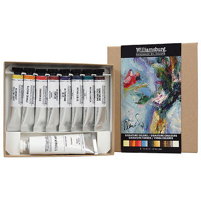 Williamsburg Handmade Oils 8-Color Introductory Set - Traditional Colors Set WB6