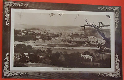 A R EDWARDS RP Postcard c.1910 FROM N W,SELKIRK SCOTLAND