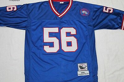 Mitchell&ness Lawrence Taylor New York Giants 1981 Throwback Nfl Jersey,size:xl