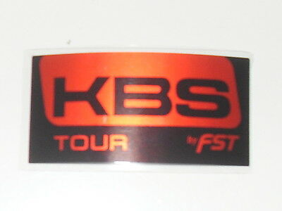 KBS TOUR GOLF SHAFT LABELS x  9 BRAND NEW  LABELS FOR  £11.99