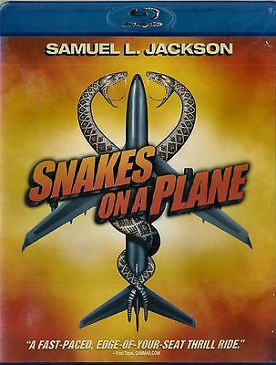 NEW  BLU-RAY  // SNAKES ON A PLANE // Samuel L. Jackson, Julianna Margulies, Nat