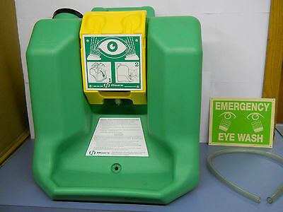 Haws 7500 16 Gallon Portable Emergency Eye Wash Station