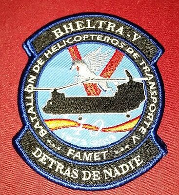 parches del ejercito de tierra famet  otan patch spain spanish  nato