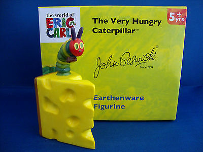 John Beswick The Very Hungry Caterpillar with Cheese JBHC8 Perfect Boxed