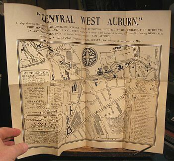 1899 map of central west Auburn, New York