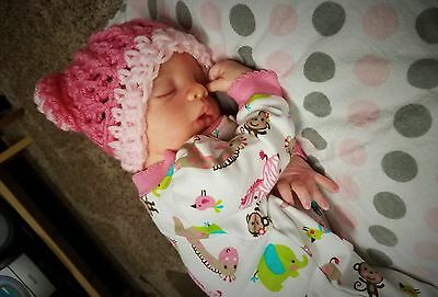 Realistic Reborn Baby Girl Doll MEGAN by Pat Moulton Sweet Preemie!