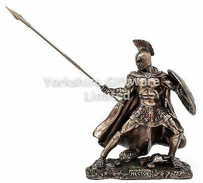 HECTOR CHAMPION OF TROY Statue Cold Cast Bronze Sculpture by Veronese H2430G6