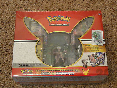 Pokemon TCG Super Premium Collection Mew and MewTwo New Sealed