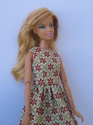 Clothes for Barbie Fashionista,Muse Body  Doll Dress