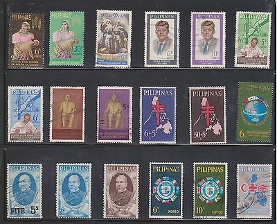 (U11-30) 1900-91 Philippines mix of 29 stamps values to P5.50 (G) $5.00