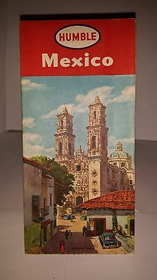 1953..Humble Oil..Esso..Mexico Road Map..Mint Condition..Buy-it $6.99