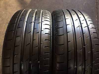 2 X 235 35 19 Continental Contact3 %90 Tread. .Freight