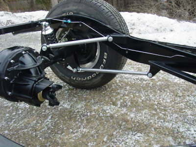 Triangulated Four Bar Rear Suspension. Year End Clearance Special !!!