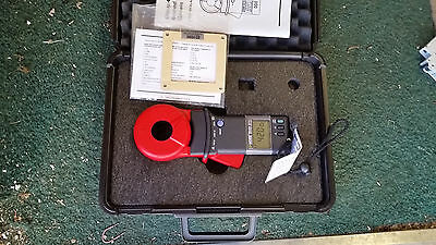 AEMC 3711 Clamp-On Ground Resistance Tester with Case