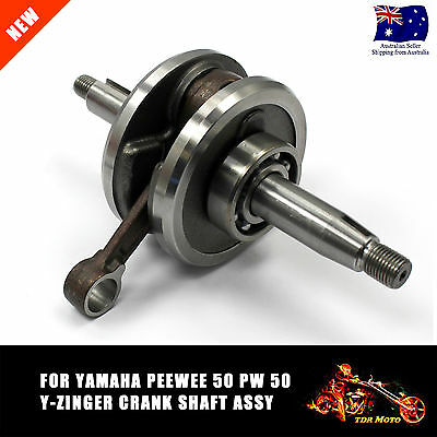 For Yamaha PW50 PeeWee50 Crank Shaft Assembly PEEWEE PW50 PY50 LX50PY G50T 50cc